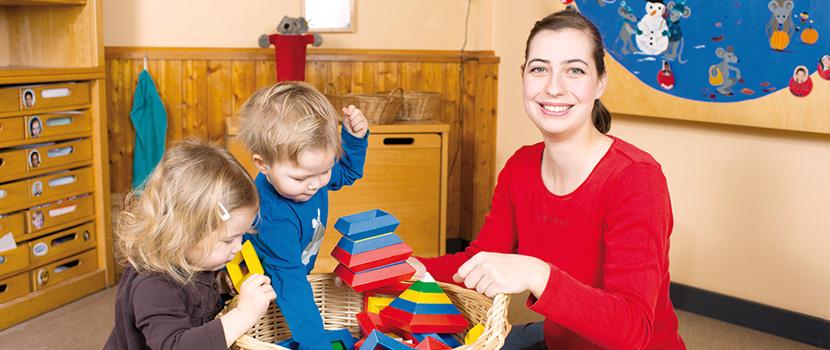 Betreuung von Kindern und Jugendlichen