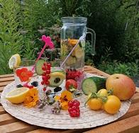 Wasser Obst Kle